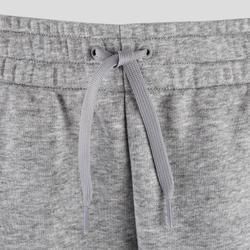 Jogginghose mit 3 Streifen Slim Damen grau