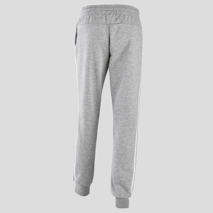 Pantalon Adidas 3 Bandes Slim Femme Gris