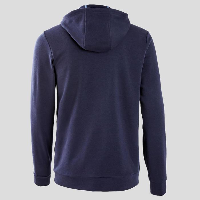 Veste Adidas avec capuche homme bleu