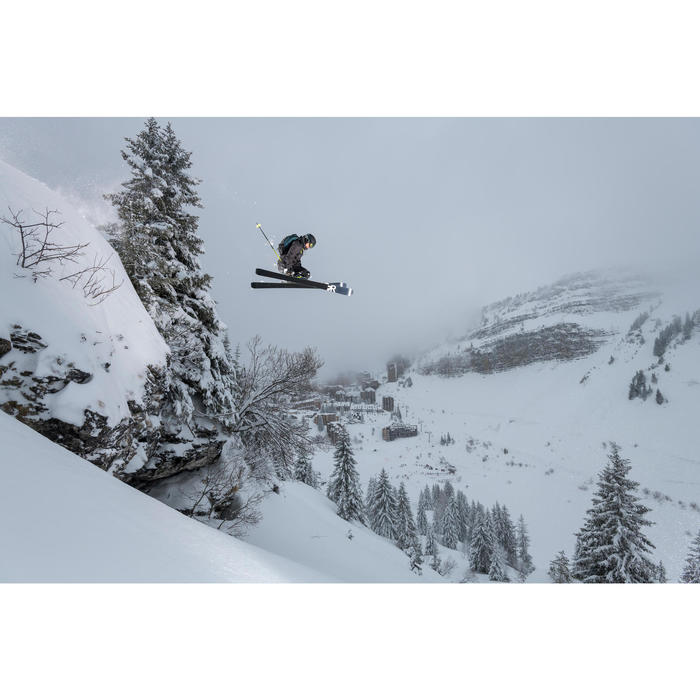 Veste de ski freeride homme FR 900 bordeaux