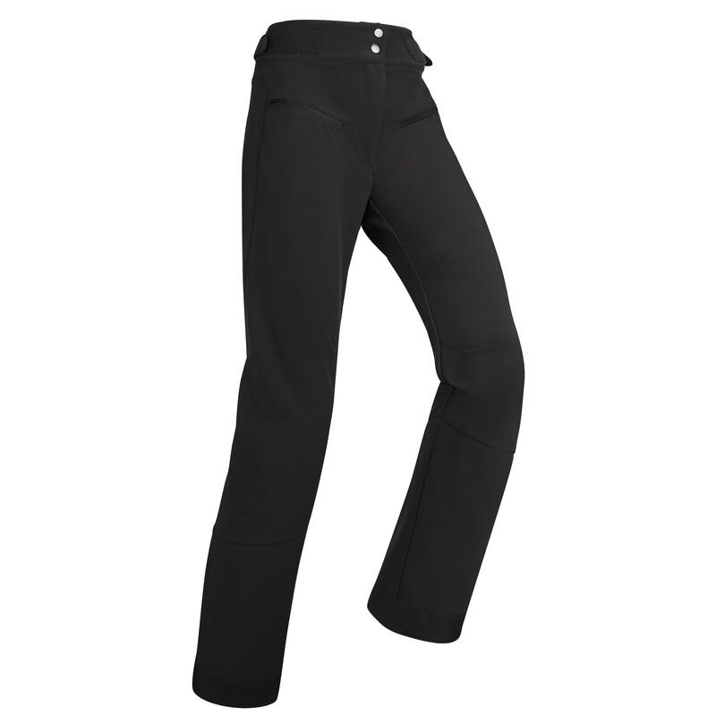 Women's Downhill Ski Trousers - Black