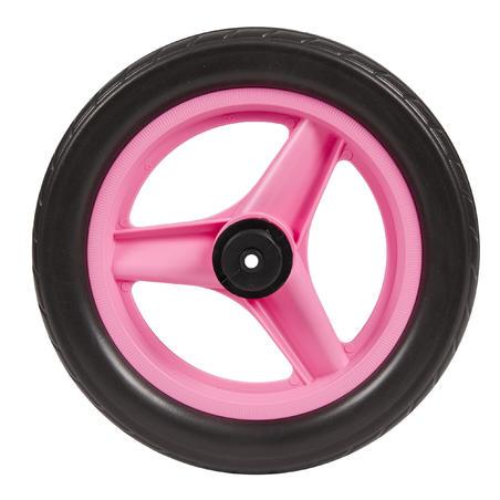 "Wheel 10"" Rear Pink & Tyre Black Balance Bike RunRide"