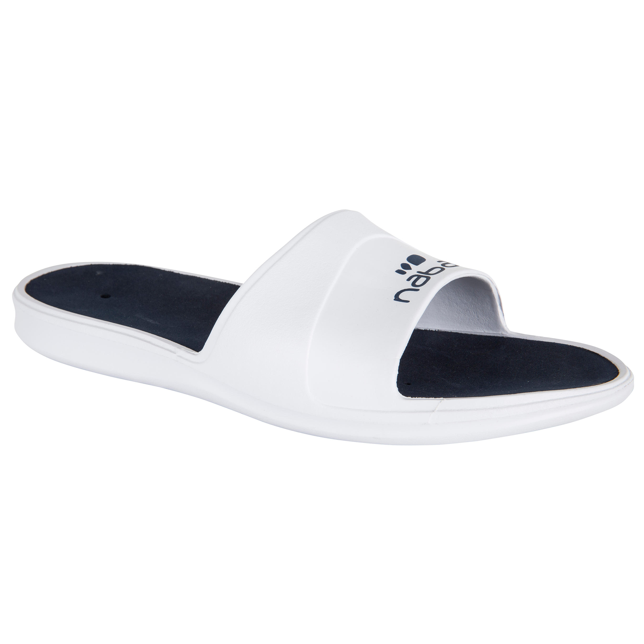 MEN'S METASLAP POOL SANDALS - WHITE BLUE