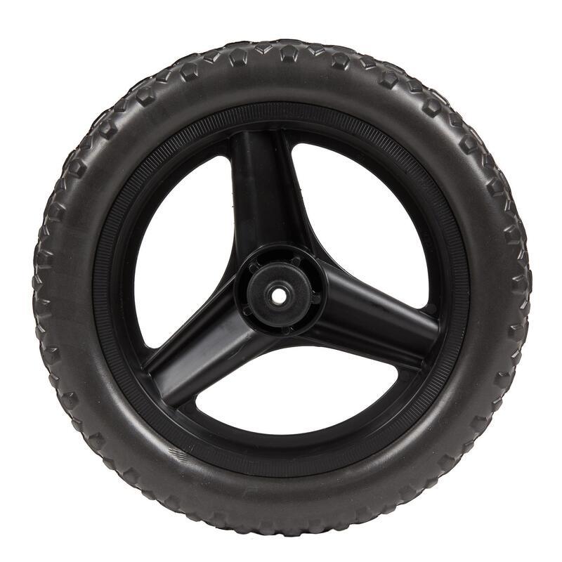 "Wheel 10"" Front & Tyre Mountain Bike RunRide - Black"