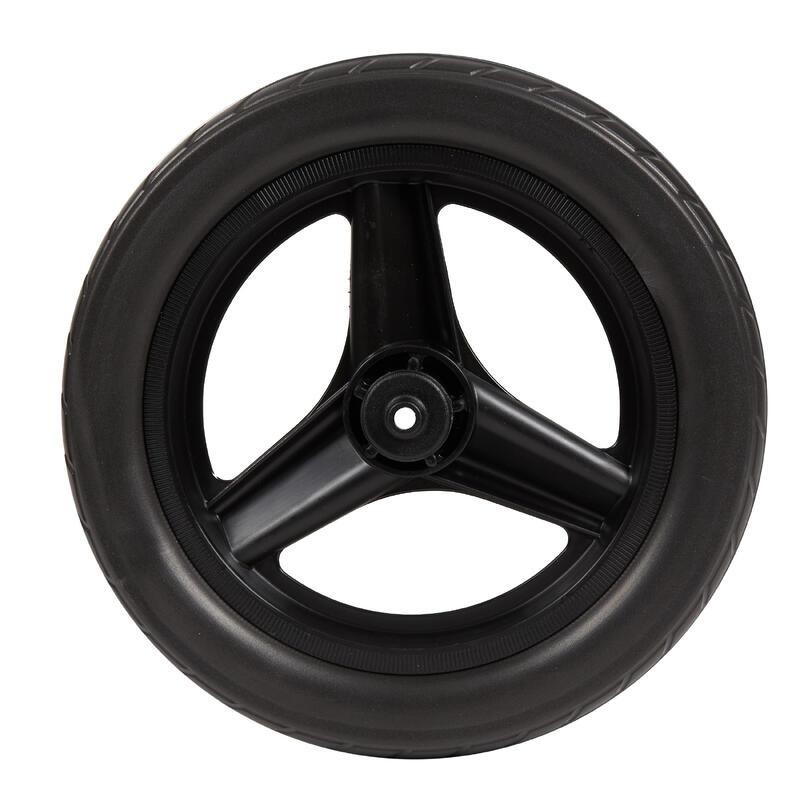 """Ruota da 10"""" anteriore RUNRIDE con pneumatico nera"""