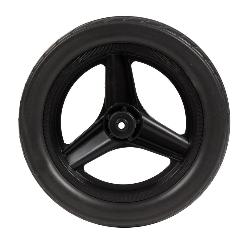 "Wheel 10"" Front Black & Tyre Black Balance Bike RunRide - Black"
