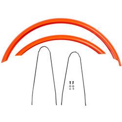 Garde boue vélo 24 pouces Orange