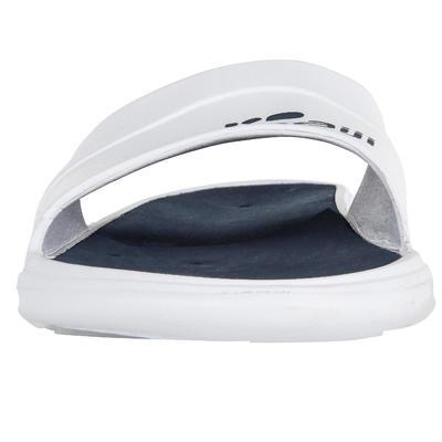 MEN'S SLAP 500 POOL SANDALS - WHITE BLUE
