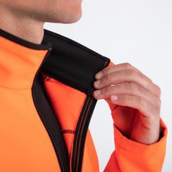 Winterfietsjack heren 100 oranje