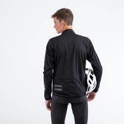 Veste coupe pluie de vélo RC500 noire