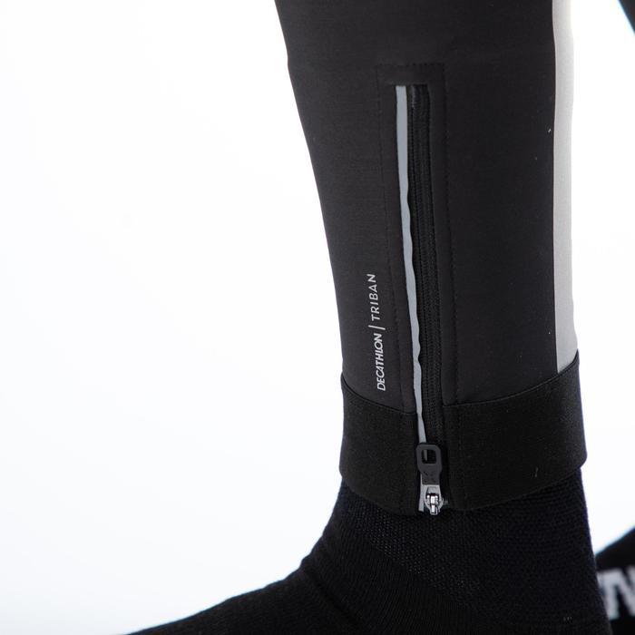 Lange fietsbroek RC500 zwart