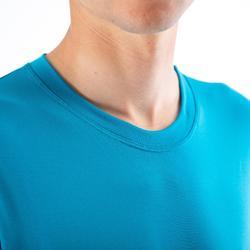 Wielren ondershirt heren met lange mouwen Essential 100 blauw