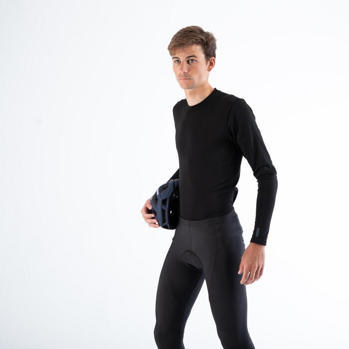 RC 100 Long Sleeve Cycling Base Layer - Black