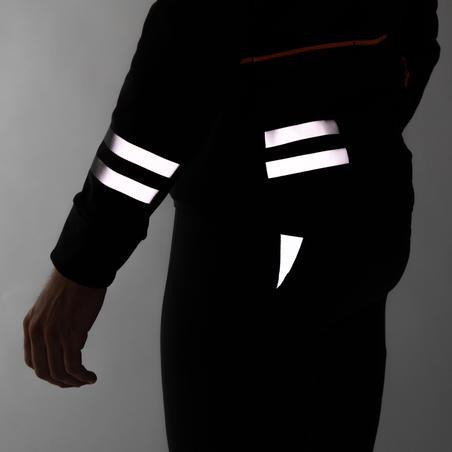 Чоловіча зимова куртка 500 для велоспорту - Чорна
