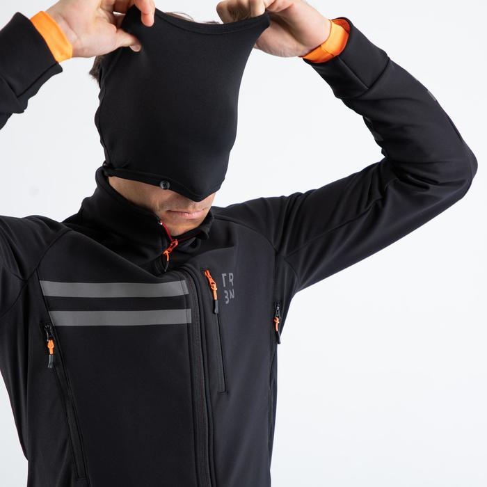 Men's Cycling Winter Jacket RC500 - Black