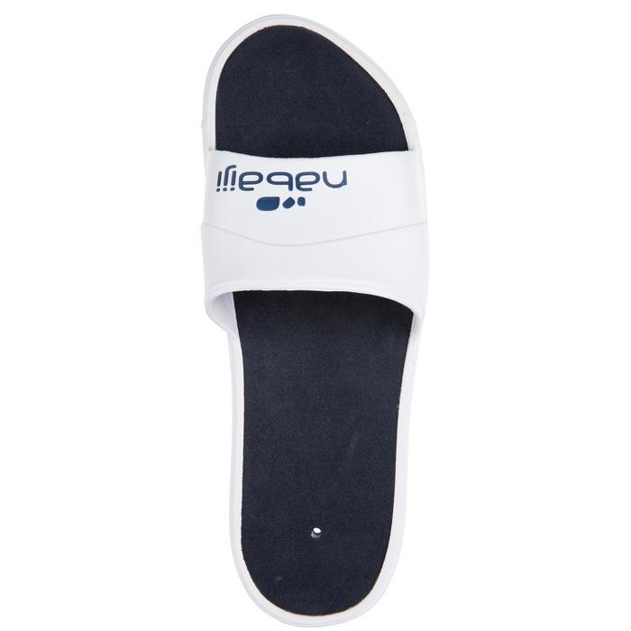 Badelatschen Slap 500 Herren weiß/blau