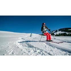 MASQUE DE SKI ET DE SNOWBOARD ENFANT ET ADULTE G 520 I ROUGE