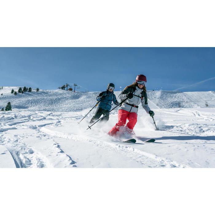 Botas de Ski Alpino Freeride Freerando FR 100 flex 80 Mulher Preto