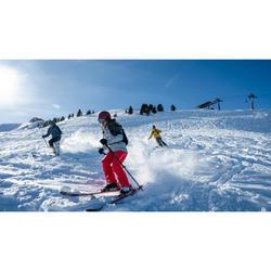 MASQUE DE SKI ET DE SNOWBOARD ENFANT ET ADULTE G 900 I ROUGE