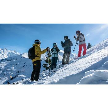 Veste de ski Freeride femme JKT SKI FR100 F Verte
