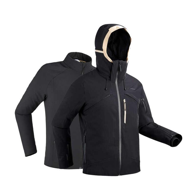 MEN'S JACKETS OR PANTS ADVANCED SKIERS Ski Wear - Men's D-SKI JACKET 980 - BLK WEDZE - Ski Wear