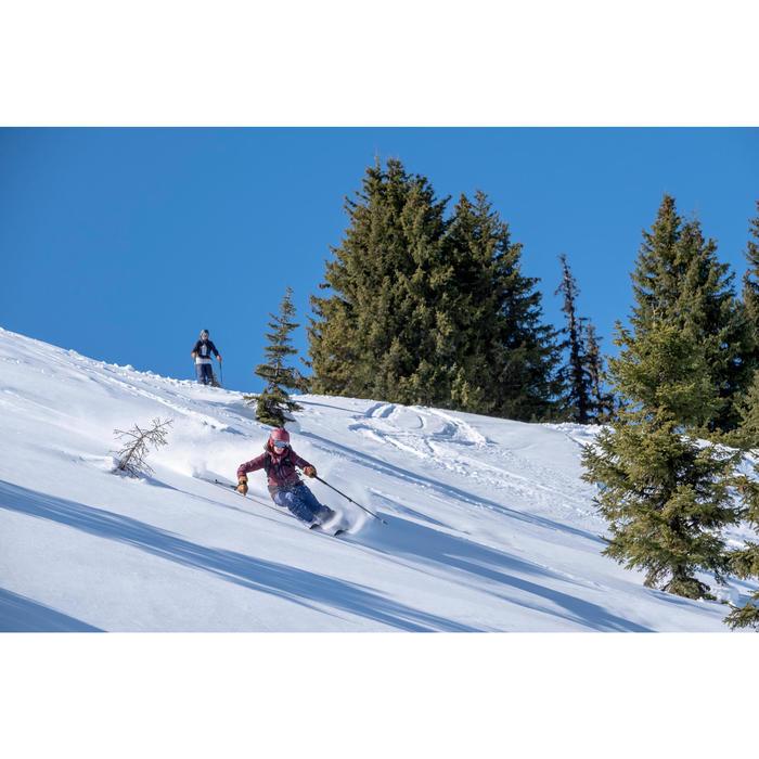 Veste de ski Freeride femme JKT SKI FR500 F Bordeau