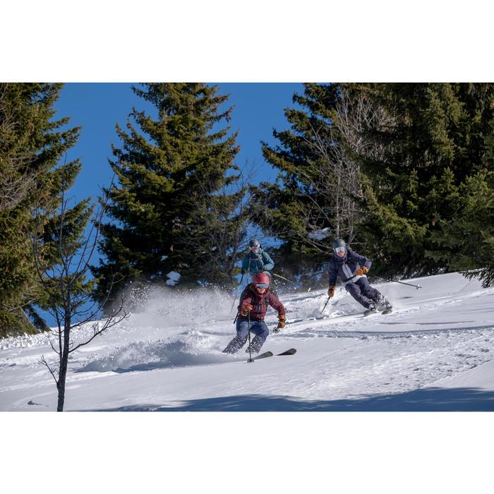Skijacke Freeride 500 Damen blau