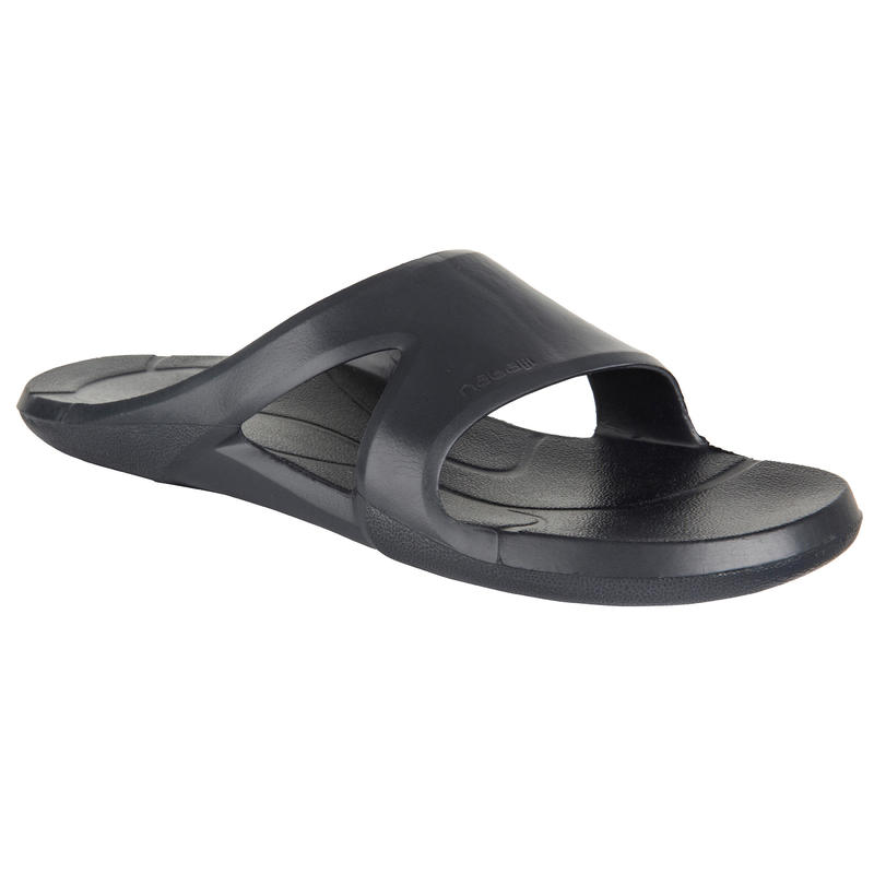 ADULT POOL SANDALS GREY