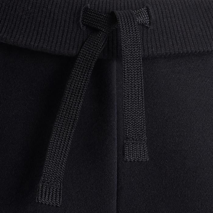 Pantalon chaud 100 fille GYM ENFANT noir