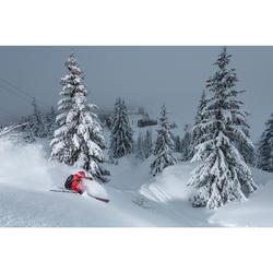 Chaqueta térmica acolchada de esquí freeride mujer SFR 900 negro