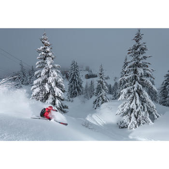 Sous-veste ouaté de ski freeride femme FR 900 noire