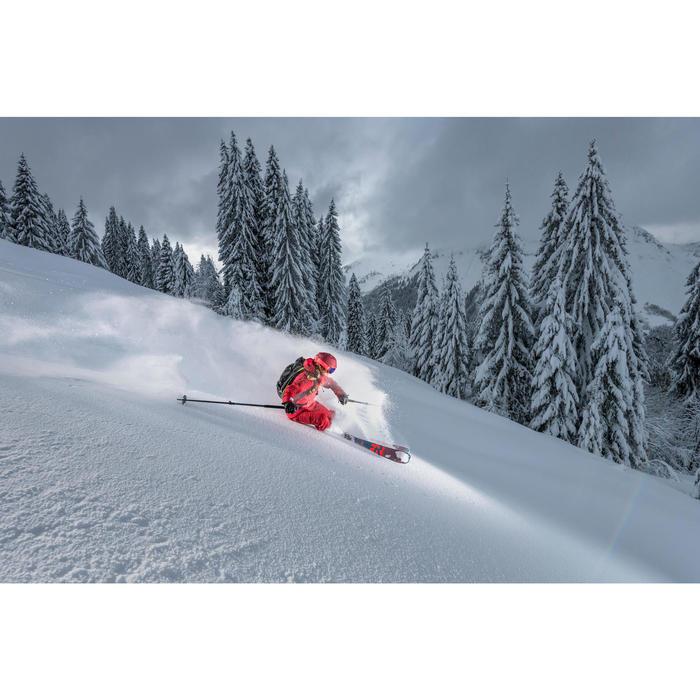 Skihelm voor freeride volwassenen Carv 700 Mips rood