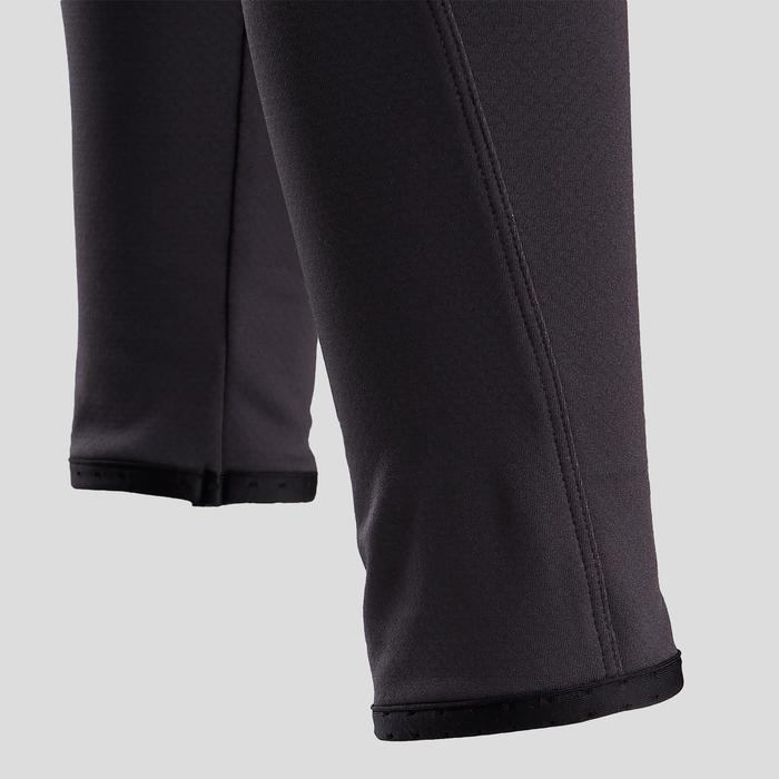 Warme en ademende legging voor gym meisjes S900 grijs