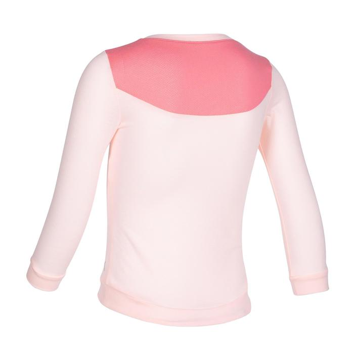 500 Long-Sleeved Baby Gym T-Shirt - Pink