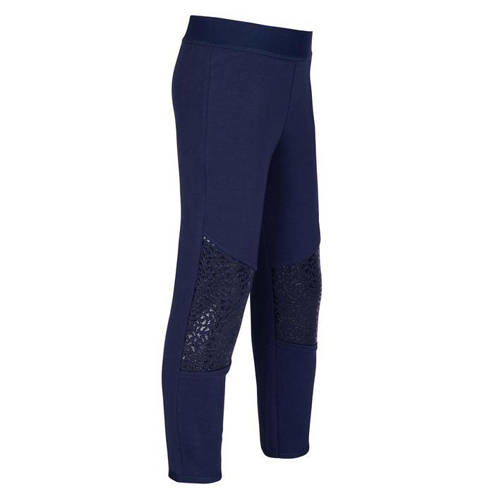 嬰幼兒健身長褲500 - 軍藍色