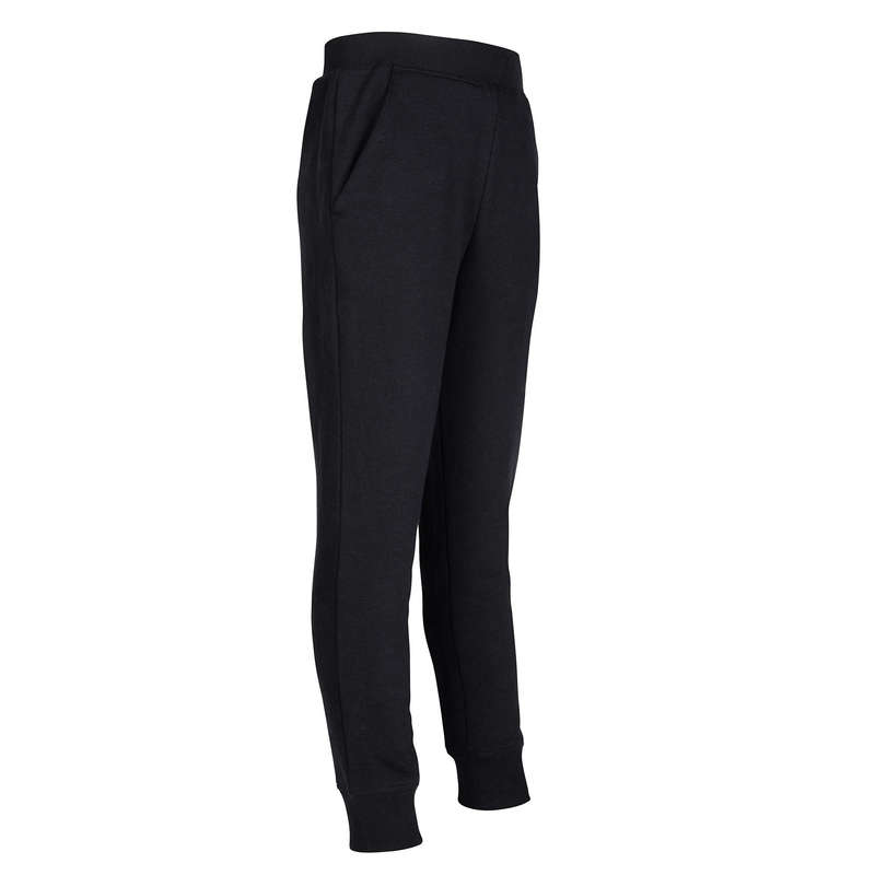 GIRL EDUCATIONAL GYM COLD WEATHER APP Clothing - 100 Girls' Gym Bottoms - Black DOMYOS - Bottoms