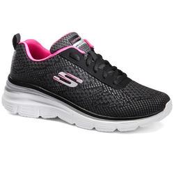 Zapatillas de marcha deportiva para mujer Flex Appeal negro/rosa