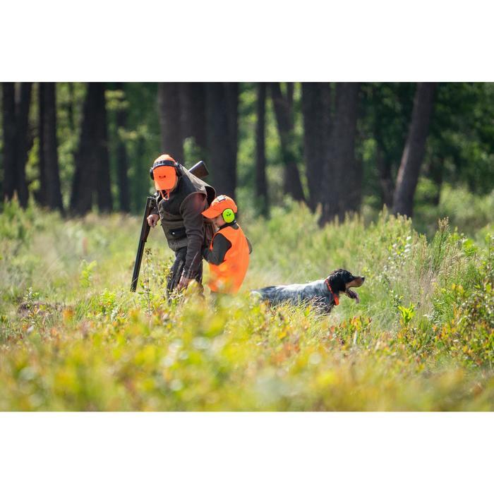 Jagdweste Leibchen Kinder orange
