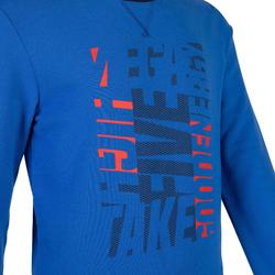Boys' Gym Sweatshirt 100 - Blue Print