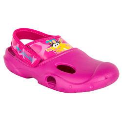 Badschoenen Ticlog meisjes roze zeemeermin
