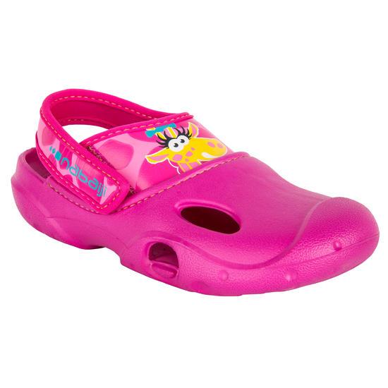 Badschoenen Ticlog meisjes roze zeemeermin - 171664