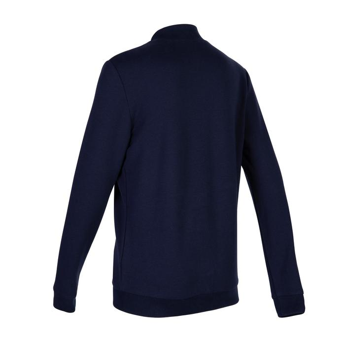Boys' Warm Gym Jacket 100 - Blue Print