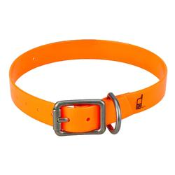 Collier chien 500 Orange fluo