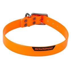 Collier chien Orange fluo 500
