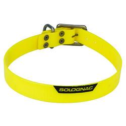 Coleira para Cão 500 Amarelo Fluorescente