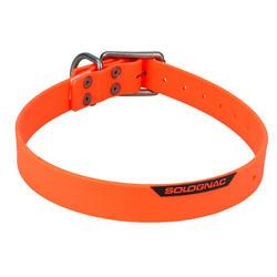 Collar Perro Caza Sologanc 900 Naranaja Ajustable resitente Hipoalergenico