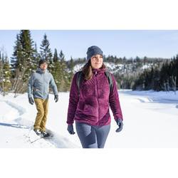 Veste polaire de randonnée neige femme SH100 ultra-warm violet