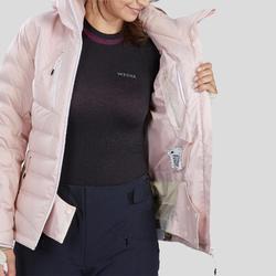 Ski-jas voor pisteskiën dames 900 Warm roze