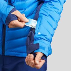 Ski-jas voor heren 900 Warm blauw