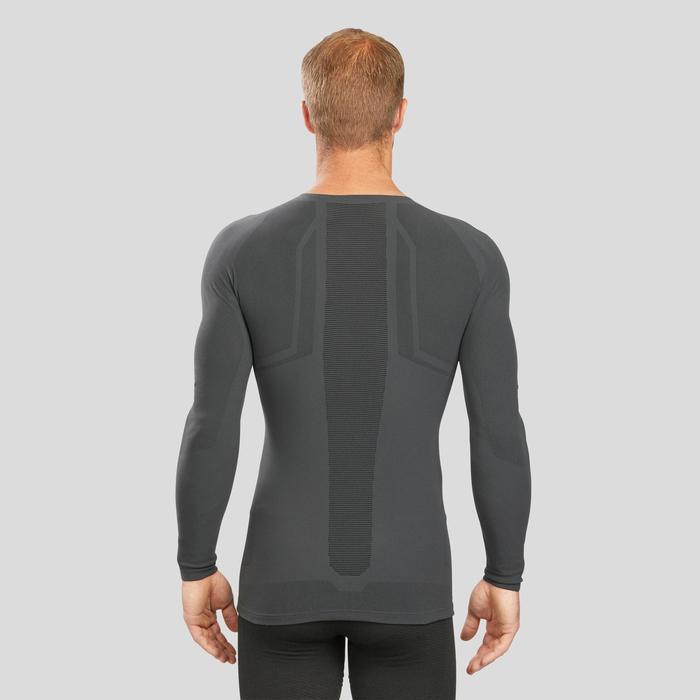 Camiseta térmica Esquí Y nieve Wed'ze 900 XBreath Hombre Gris